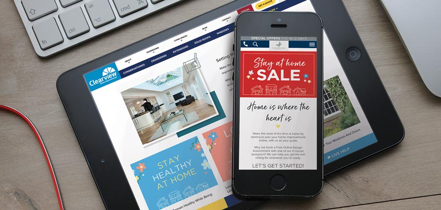 Stay at Home Sale Campaign